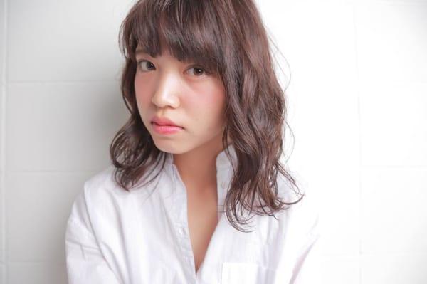 アシメな前髪パーマ2