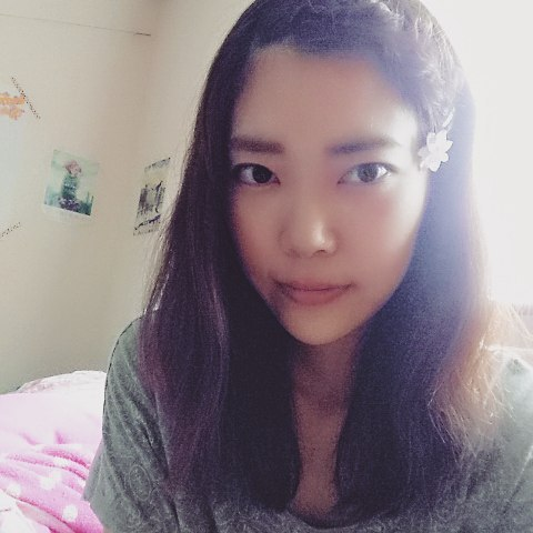 前髪アレンジ