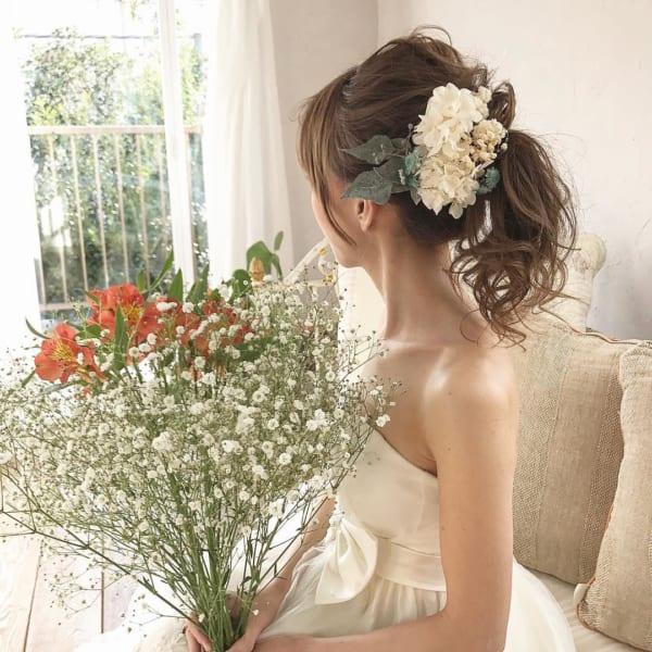 花嫁アレンジ2