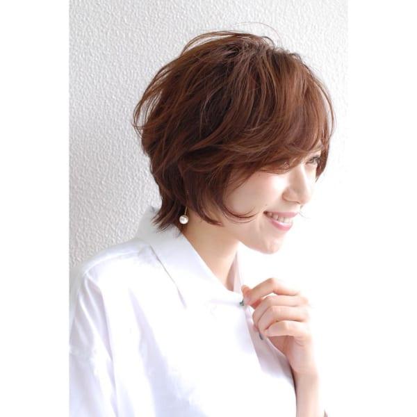 30代におすすめの前髪パーマスタイル2