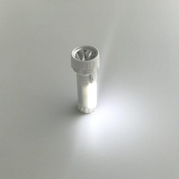 2WAY懐中電灯の丸型タイプ