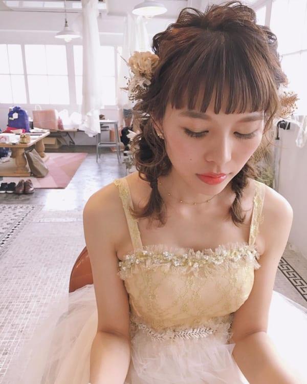 花嫁アレンジ5