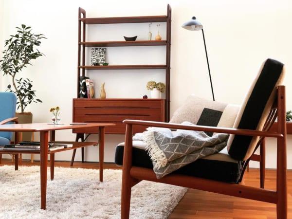 木目を生かした北欧家具と雑貨を取り入れた戸建てインテリア4
