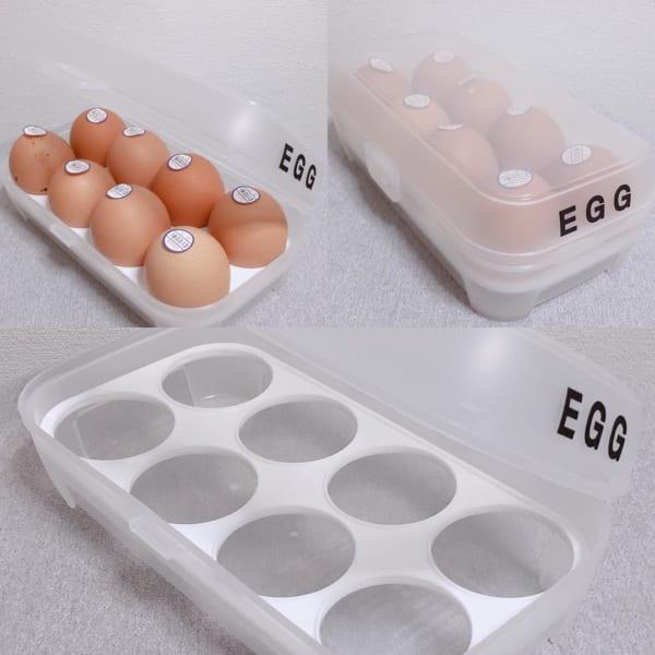 卵ケース(ダイソー)