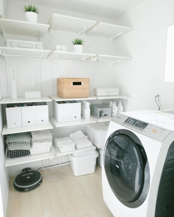 洗面所収納アイデア1