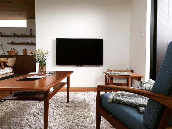 木目を生かした北欧家具と雑貨を取り入れた戸建てインテリア5