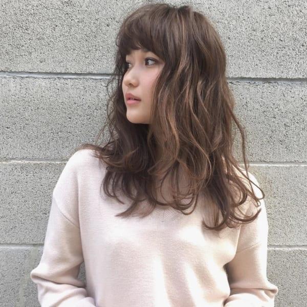 30代におすすめの前髪パーマスタイル6