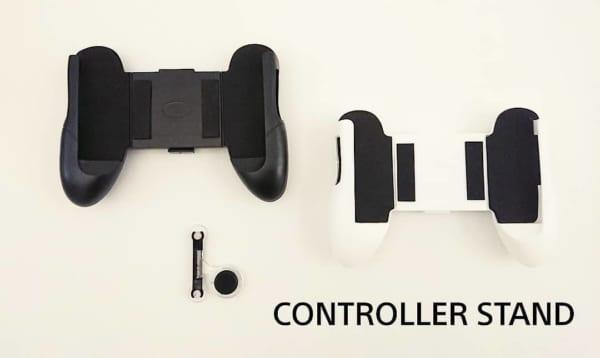 スマホゲーム用コントローラースタンド&操作スティック(キャンドゥ)