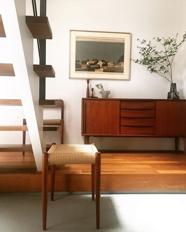 木目を生かした北欧家具と雑貨を取り入れた戸建てインテリア9
