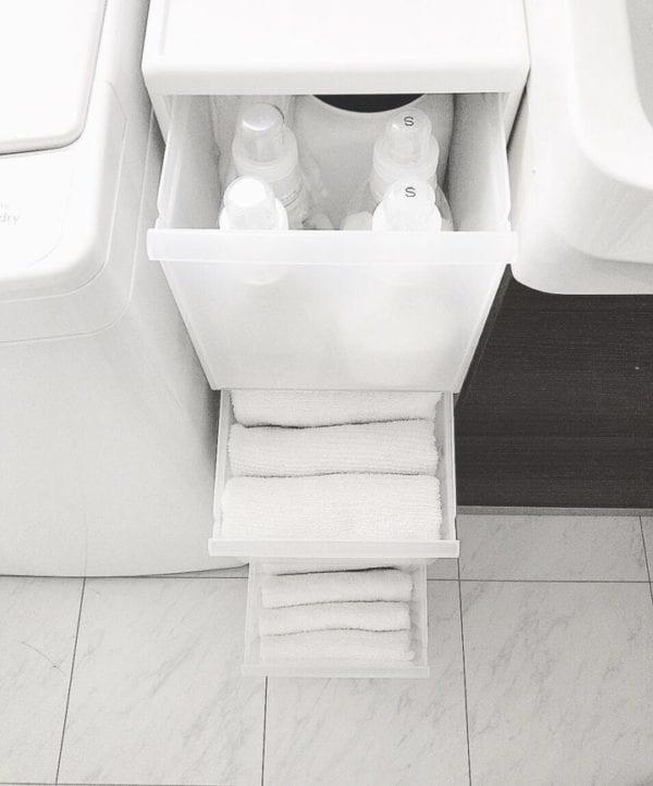 洗面所収納アイデア49