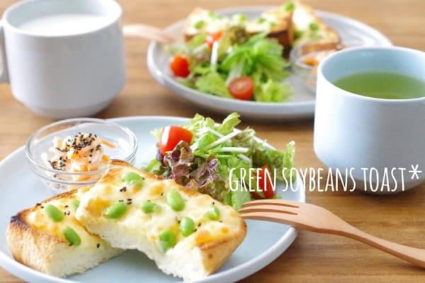 カフェ風朝食に