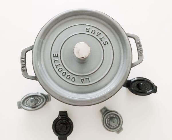 セリア:オーブン&電子レンジ対応のミニココット2
