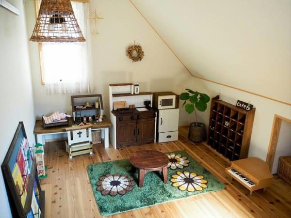 古民家風の子供部屋