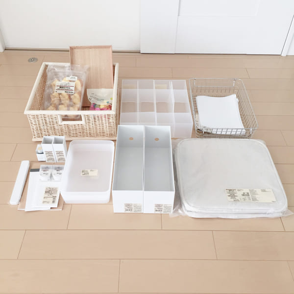 素材・デザイン豊富な収納用品