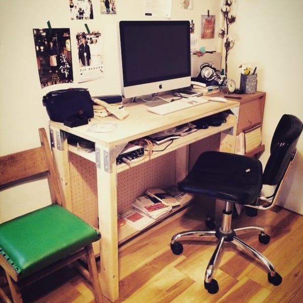 一人暮らしの快適PCスペース6