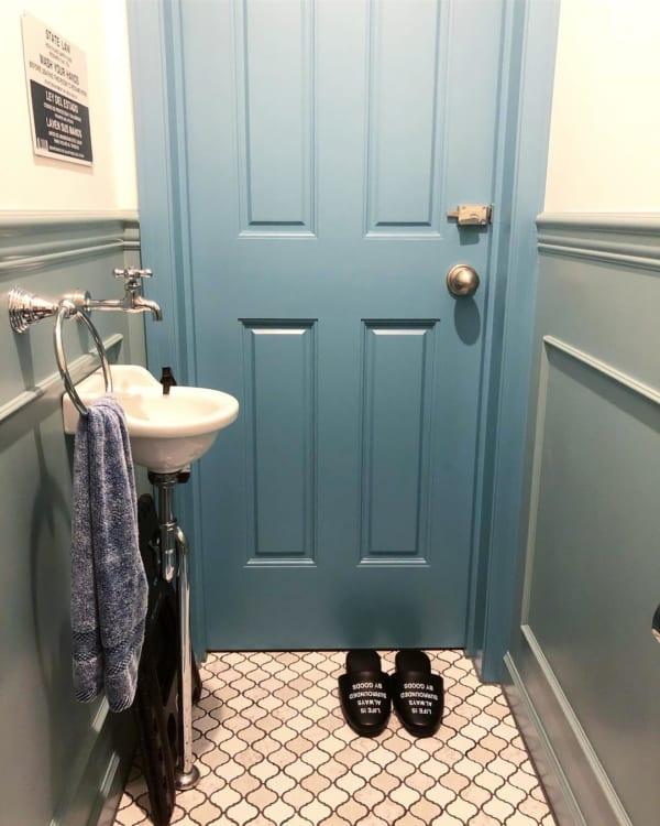 トイレにもぴったりなカリフォルニアインテリア2