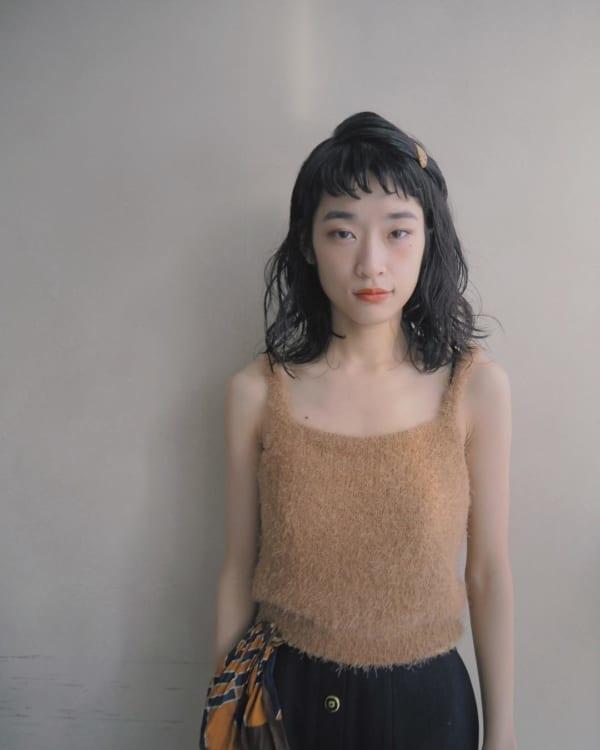 前髪ぱっつんアレンジ集13
