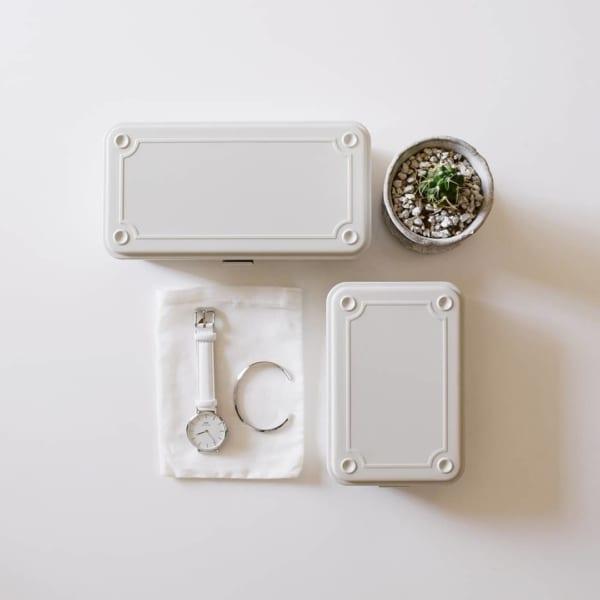 無印良品おすすめ収納アイテム⑩ スチール工具箱実例1
