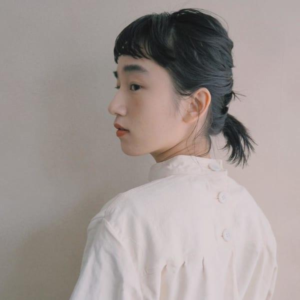 前髪ぱっつんアレンジ集14