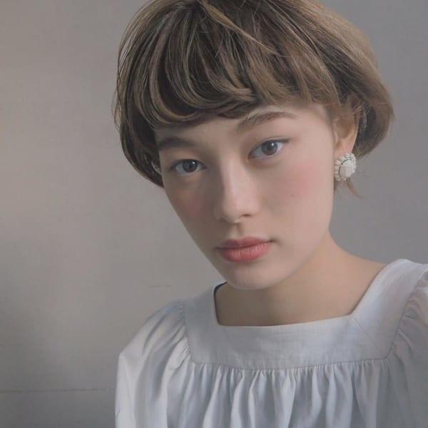 前髪ぱっつんアレンジ集17