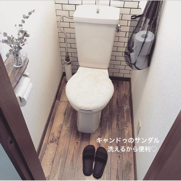トイレ内の予備は