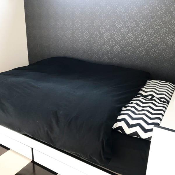 枕カバー(ダイソー)