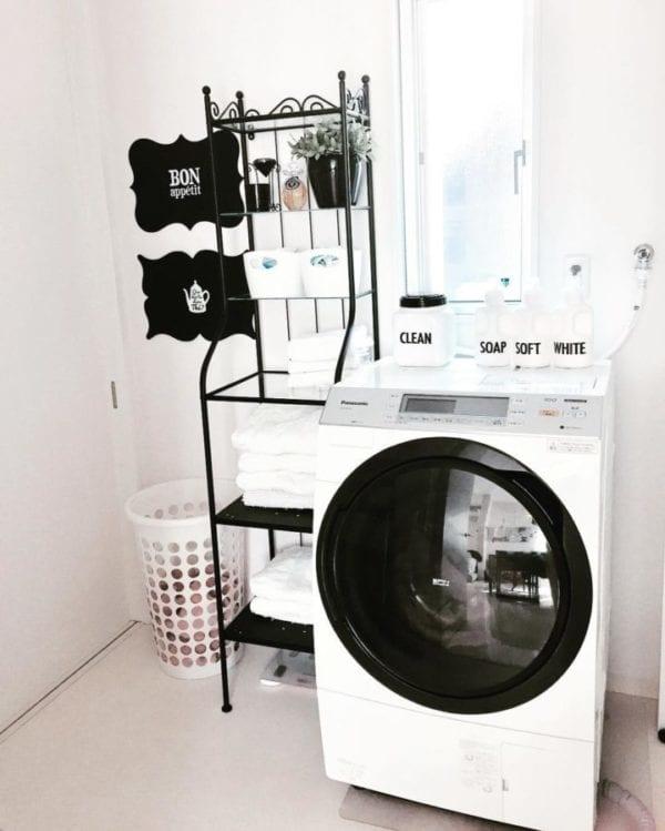 洗面所収納アイデア6