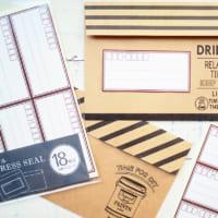 【100均】で購入できる付箋&シール特集☆かわいくて使えるアイテムばかり!