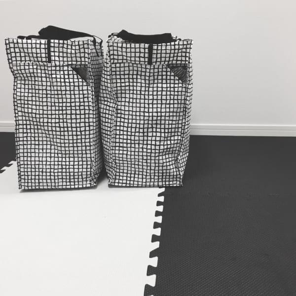 IKEAの収納バッグ