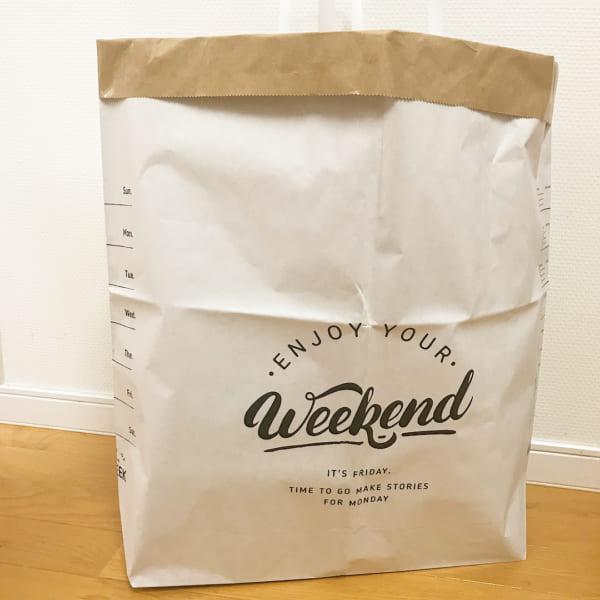 紙製のストレージバッグ