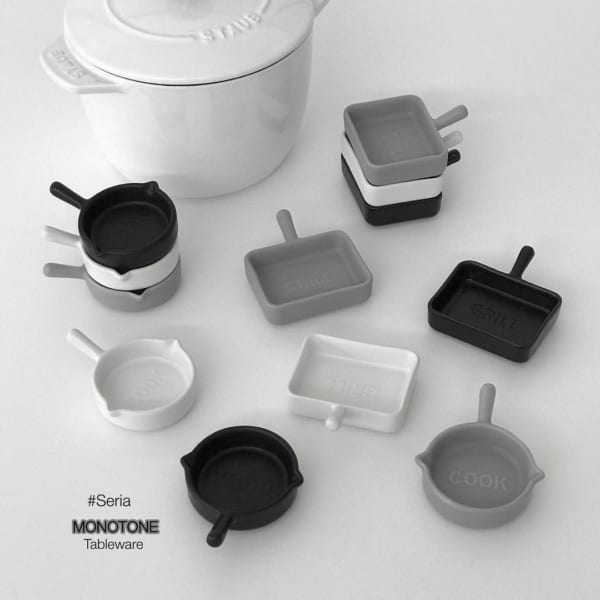 マットモノトーン食器7
