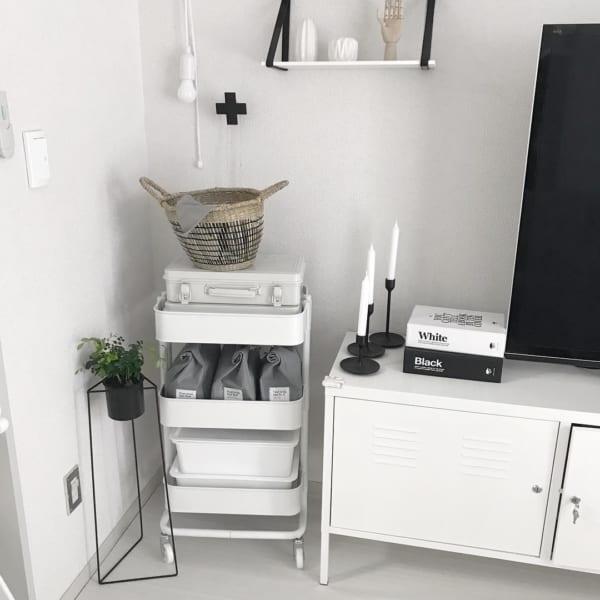無印良品おすすめ収納アイテム⑩ スチール工具箱実例8