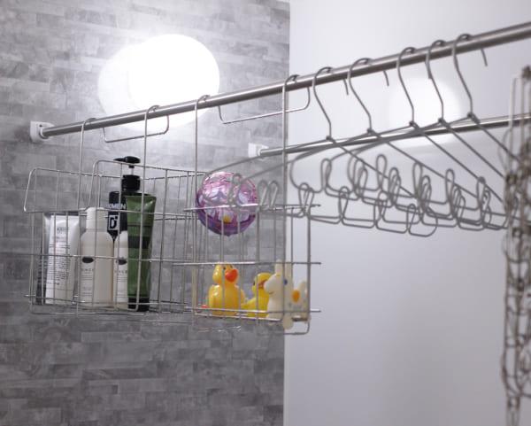 その他のアイテムを使ったお風呂のおもちゃの収納法4