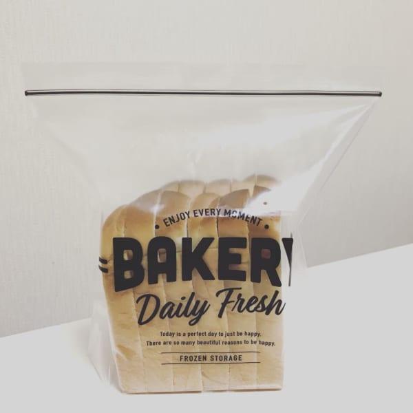 食パン用フリーザーバッグ(セリア)