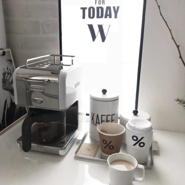 カフェコーナーを作ってみましょう