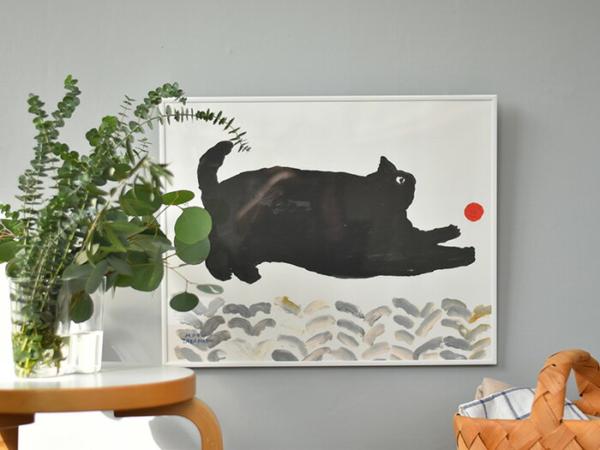 今注目したい!動物モチーフで癒されるアートポスター4