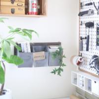 【セリア】の木材でDIY!壁面収納&ディスプレイアイテムを作ろう♪