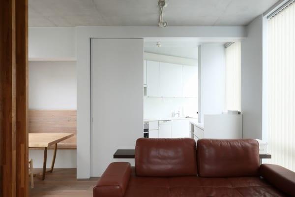 築浅の既存の良さを活かし、空間を広く使う引き算リノベ5