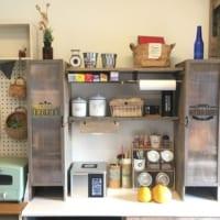 ジャストフィット♪【セリア・ダイソー】アイテムでキッチン収納DIY