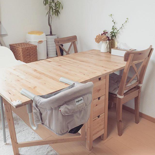 IKEAのテーブルはシンプルでおしゃれ2