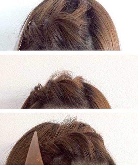 自分で作れる前髪アレンジ