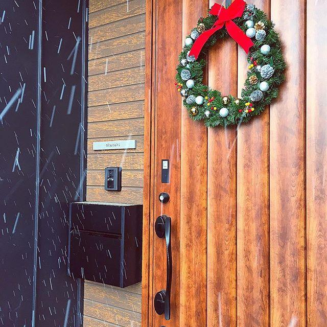 ドアに飾る4