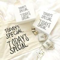 お洒落な生活雑貨【TODAY'S SPECIAL】特集☆みなさんの愛用品を大公開