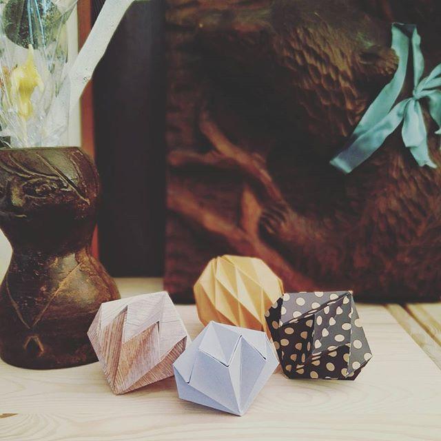 折り紙でオーナメント