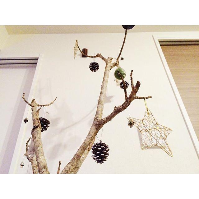 枝ツリーでクリスマスを楽しもう5