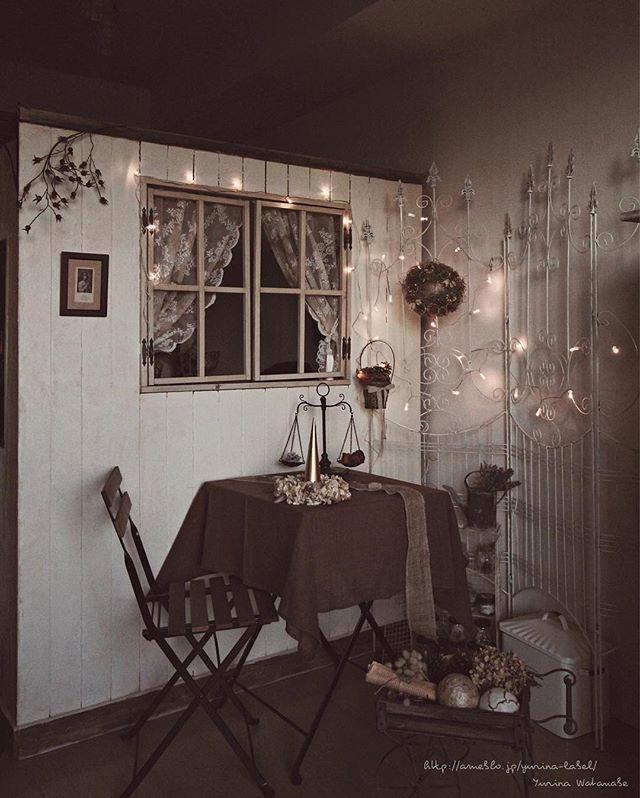 お部屋の一角をクリスマス一色に!2