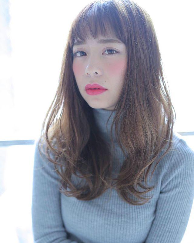 簡単ミディ〜セミロングスタイリング4