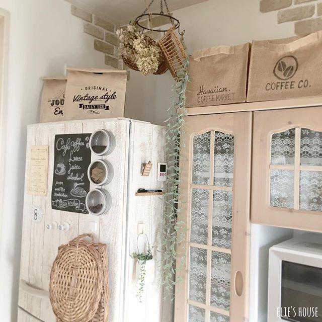 キッチン収納にクラフトバッグを活用