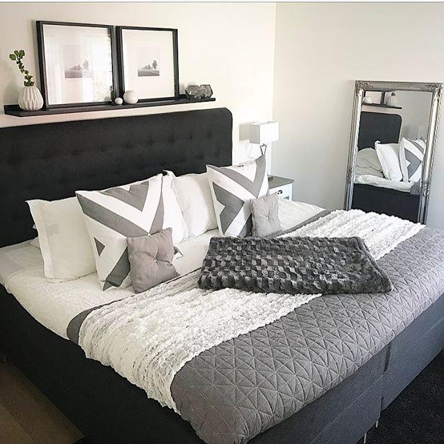 モノトーンインテリアは、大人の寝室にぴったり2