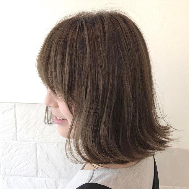 今一番やってみたい♡地毛風暗髪カラー+ハイライトスタイル8